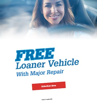 Free Loaner Vehicle with Mopar Repair