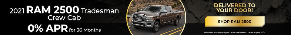New 2021 RAM 2500 | APR