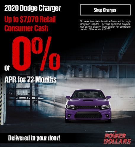 New 2020 Dodge Charger | Power Dollars APR