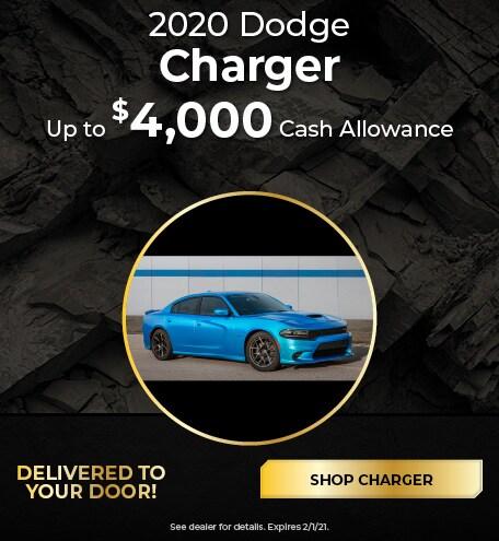 New 2020 Dodge Charge   Cash Allowance