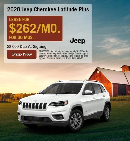 New 2020 Jeep Cherokee