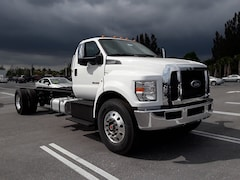 2018 Ford F-750 Diesel Base Truck Regular Cab