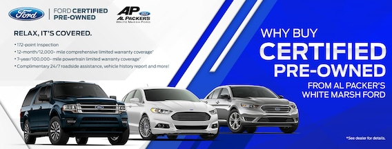Ford Certified Pre Owned >> Certified Pre Owned Inventory Used Cars Near Baltimore Md