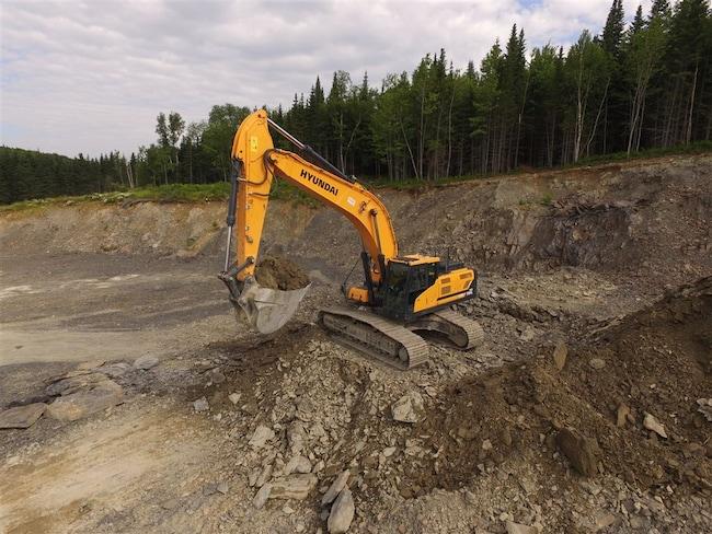 2016 HYUNDAI HX380L 344 hp | 40,320 kg | 2.12 yd³