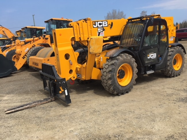 2018 JCB 510-56 TELESCOPIC  LOADALL RENTAL MACHINE SALE