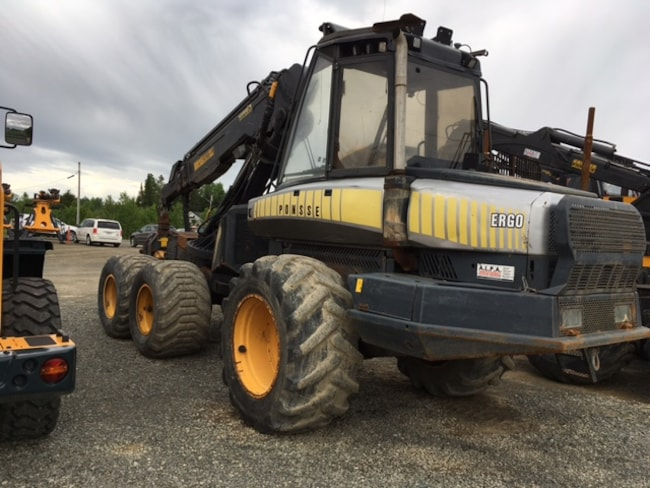 2003 PONSSE Ergo Wheel Harvester with Ponsse H-73 harvesting head