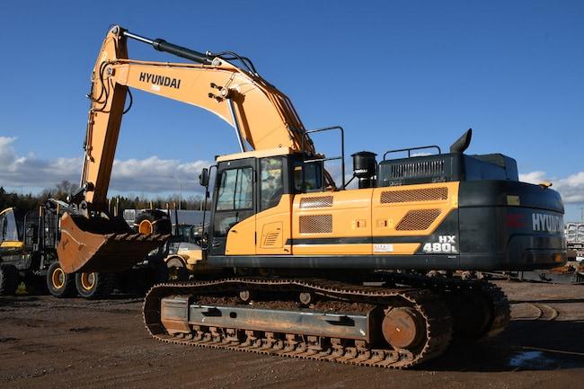 2017 HYUNDAI HX480L 424 hp | 51,040 kg | 2.87 yd³