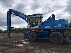 2004 FUCHS MHL-460 with Rotobec 8810 Graple