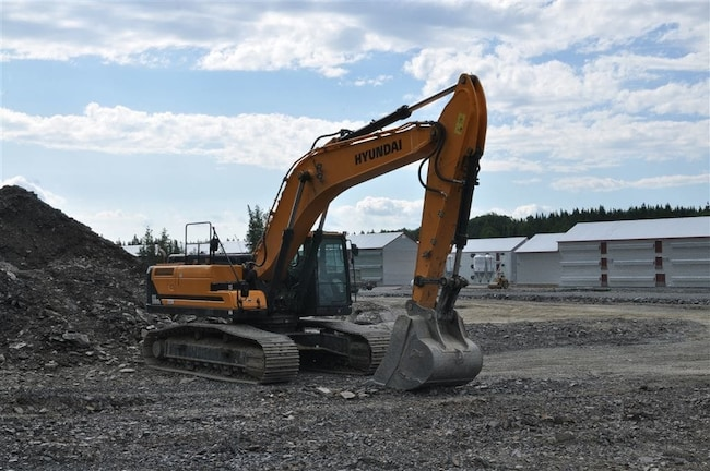 2016 HYUNDAI HX380L RENTAL MACHINE SALE