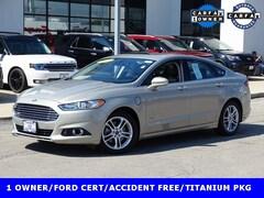 2015 Ford Fusion Energi Titanium Sedan