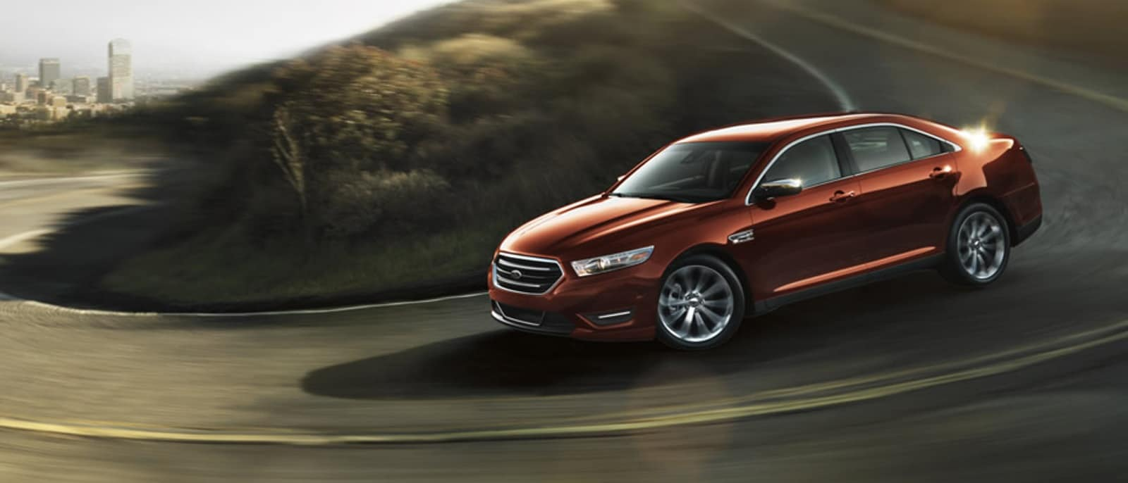 2016 Ford Taurus Bronze Fire Metallic