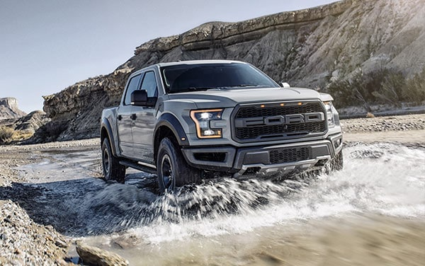 2017 Ford F-150 Raptor - Chassis