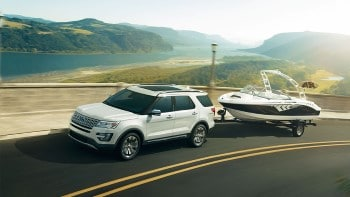 2017 Ford Explorer Towing