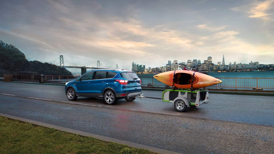 2017 Ford Escape SE Towing
