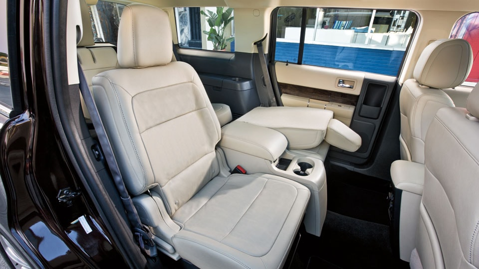 2016 Ford Flex Interior Space and 2nd row