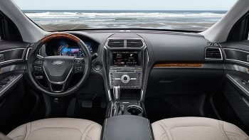 2016 Ford Explorer Front Interior