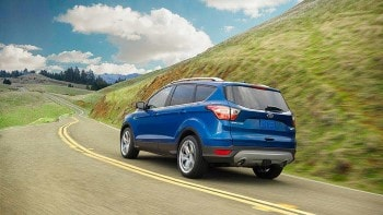 2017 Ford Escape Blue