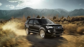 2016 Ford Explorer Limited Shadow Black