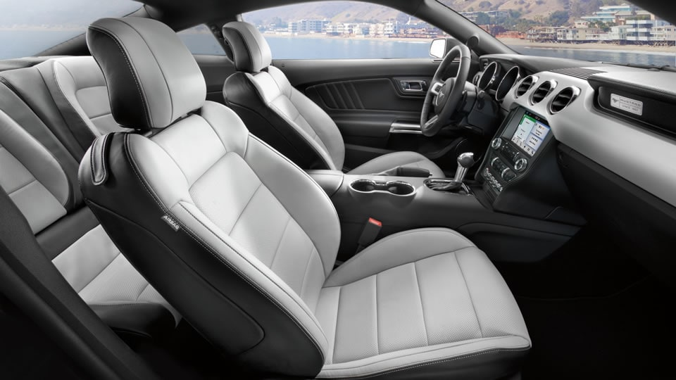 2016 Ford Mustang Front Interior