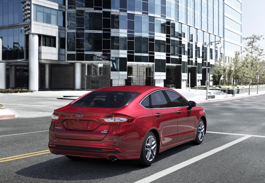 2016 Ford Fusion Rear