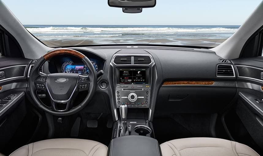 2016 Ford Explorer - Interior