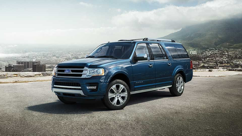 2016 Ford Expedition Blue Jeans