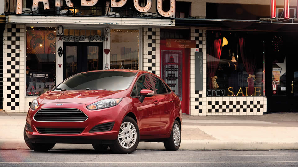 2016 Ford Fiesta Red