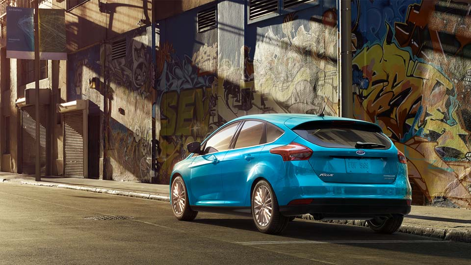 2016 Ford Focus Rear