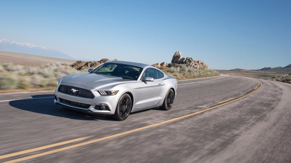 2017 Ford Mustang Silver