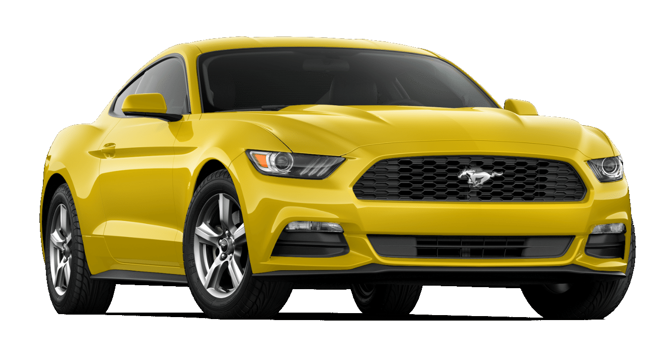 2017 Ford Mustang Triple Yellow