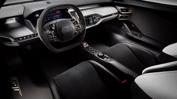 2016 Ford GT Front Interior