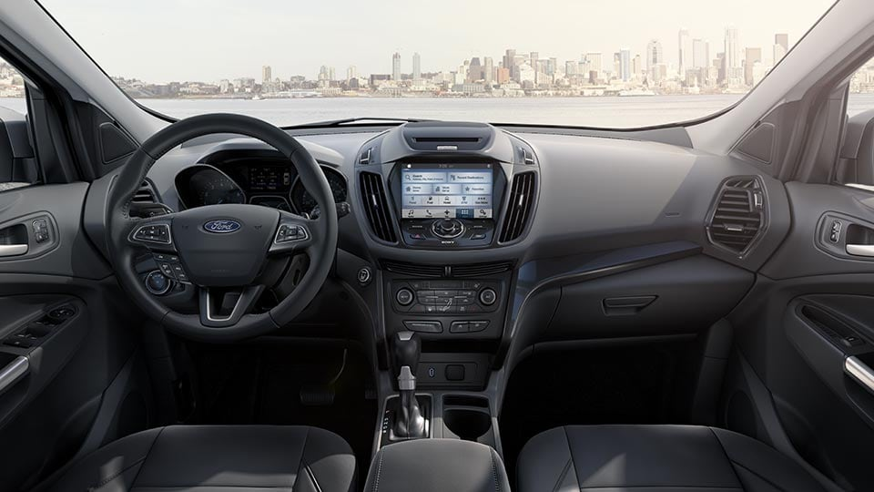 2017 Ford Escape Front Interior