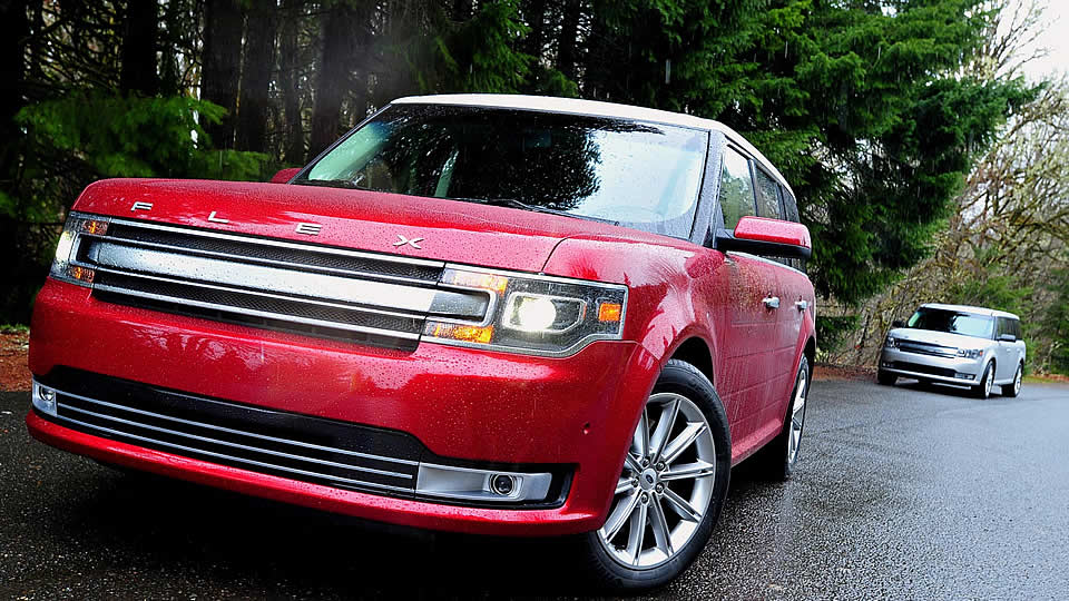 2016 Ford Flex Design