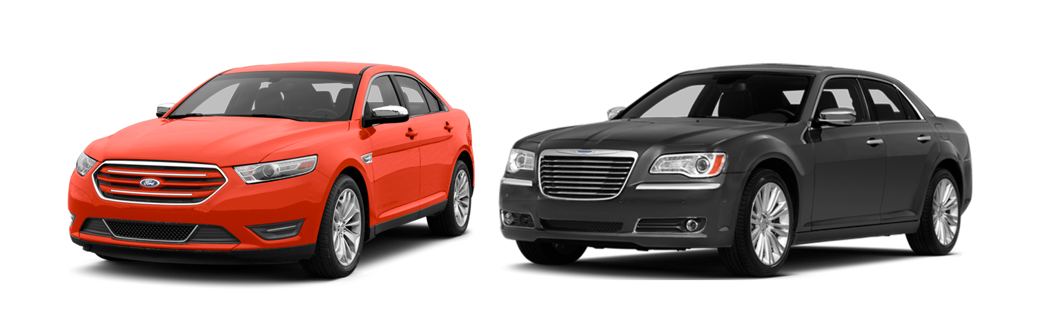 2014 Ford Taurus vs Chrysler 300