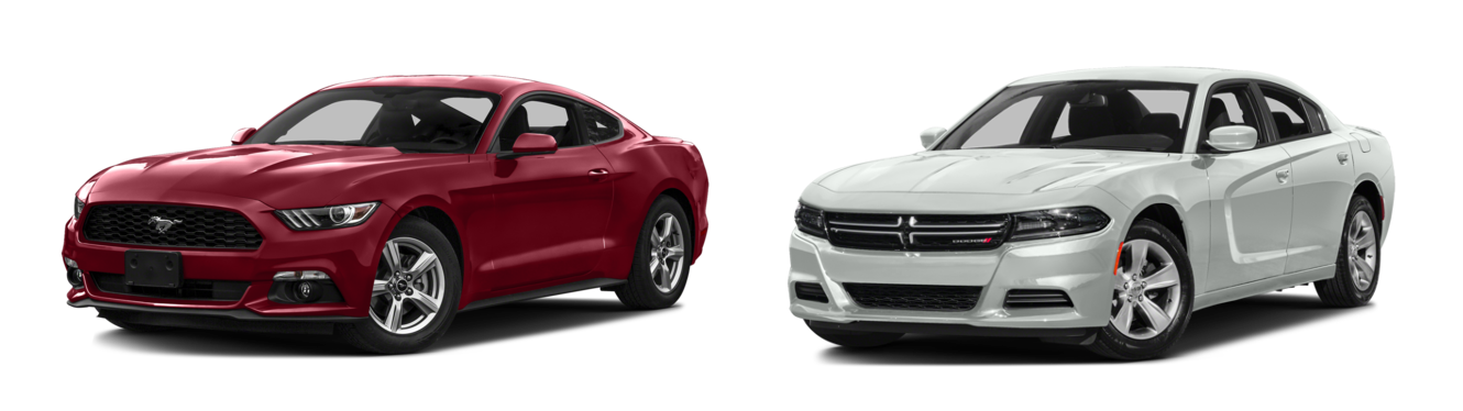 2016 Ford Mustang vs Dodge Charger