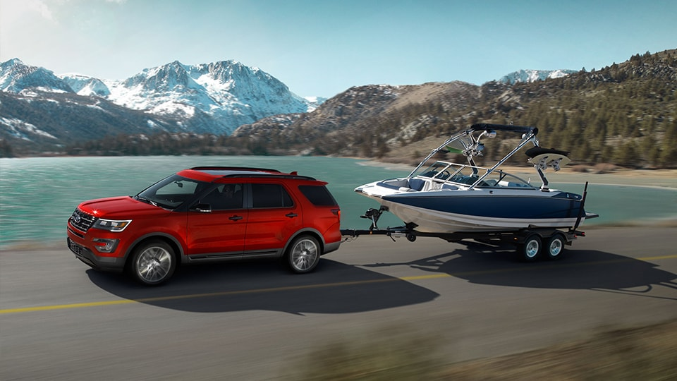 2017 Ford Explorer Sport Towing & Trailering