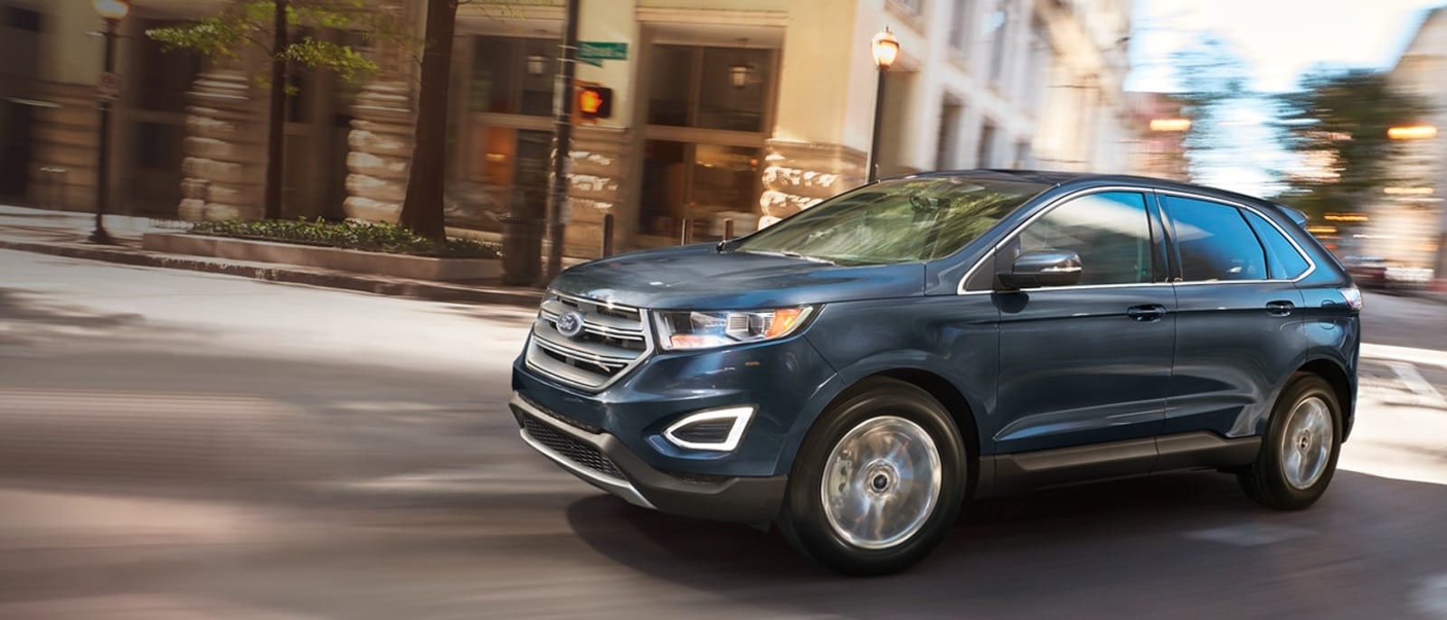 2016 Ford Edge Blue