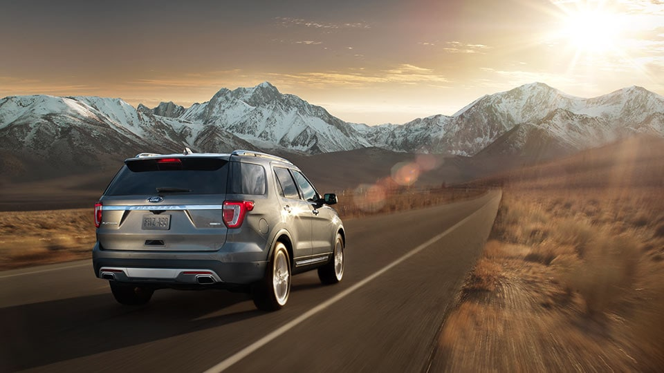 2016 Ford Explorer Rear