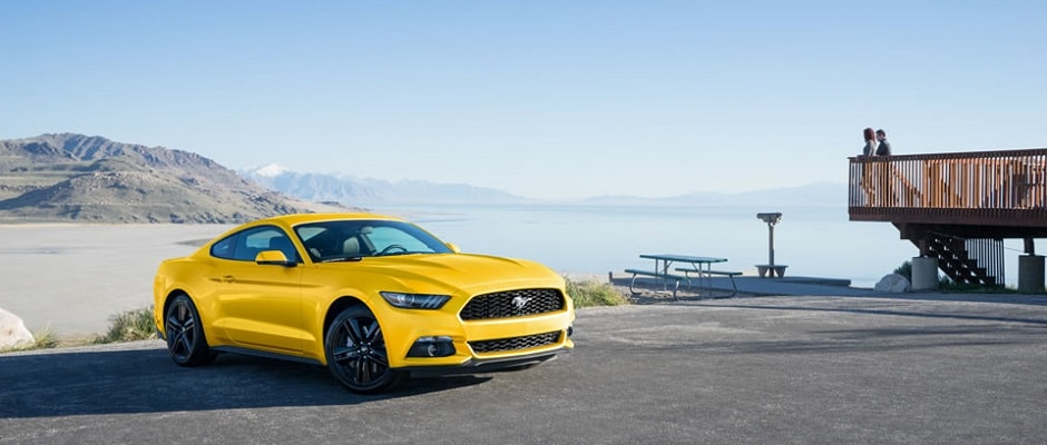 2016 Ford Mustang Yellow