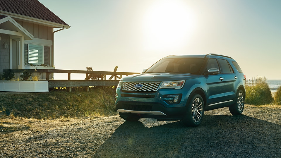 2017 Ford Explorer Blue