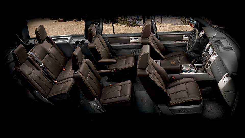 2017 Ford Expedition seats