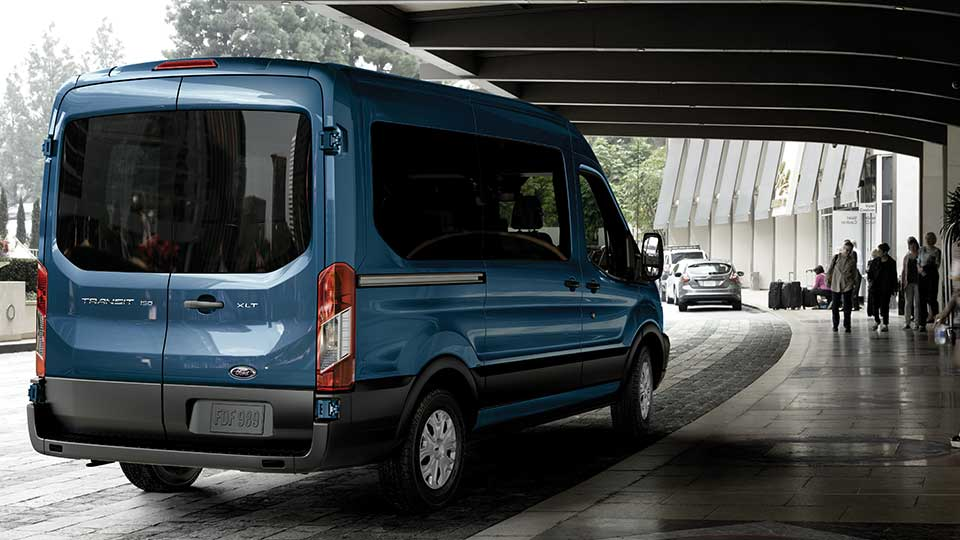 2017-ford-transit-blue-rear