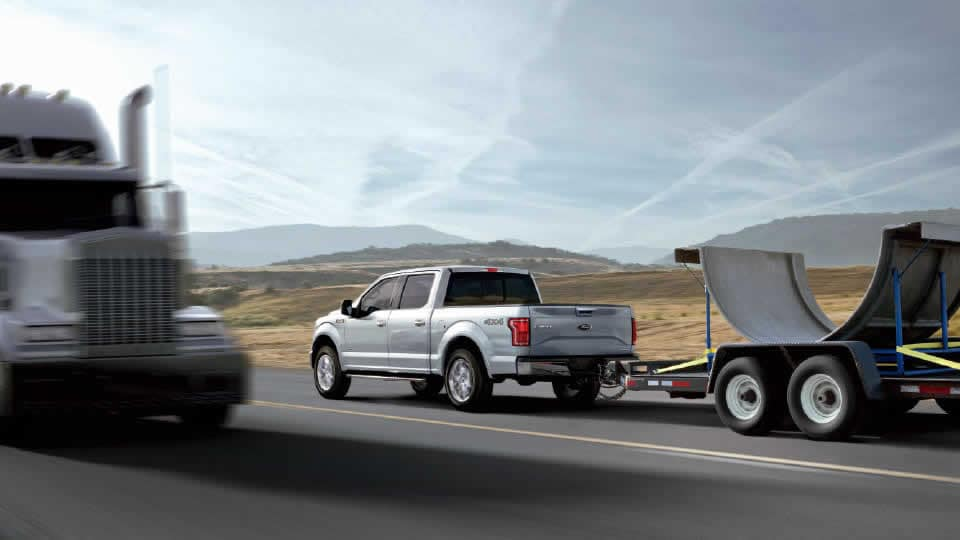 2016 Ford F-150 Towing Rear