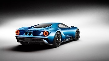 2016 Ford GT Side Rear