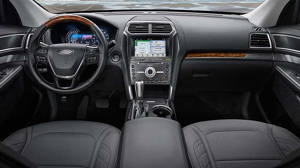 2017 Ford Explorer Front Interior