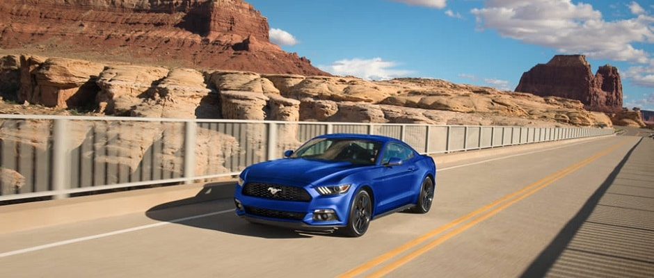 2016 Ford Mustang Blue
