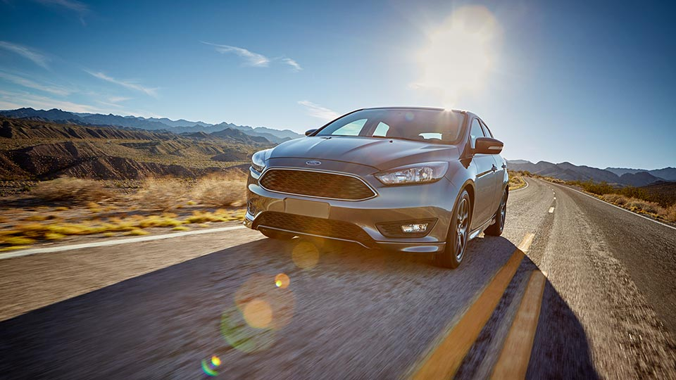 2016 Ford Focus highway