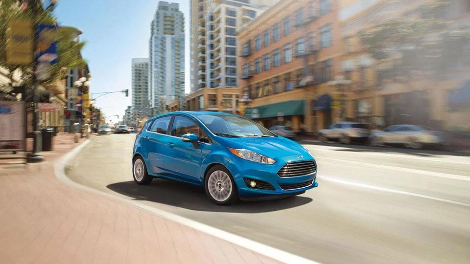 2016 Ford Fiesta Blue Candy