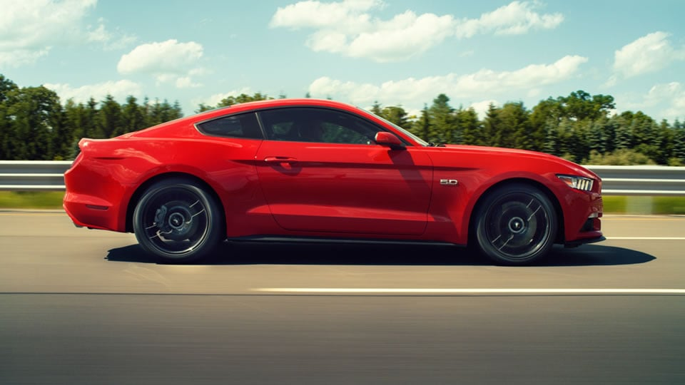 2016 Ford Mustang Profile