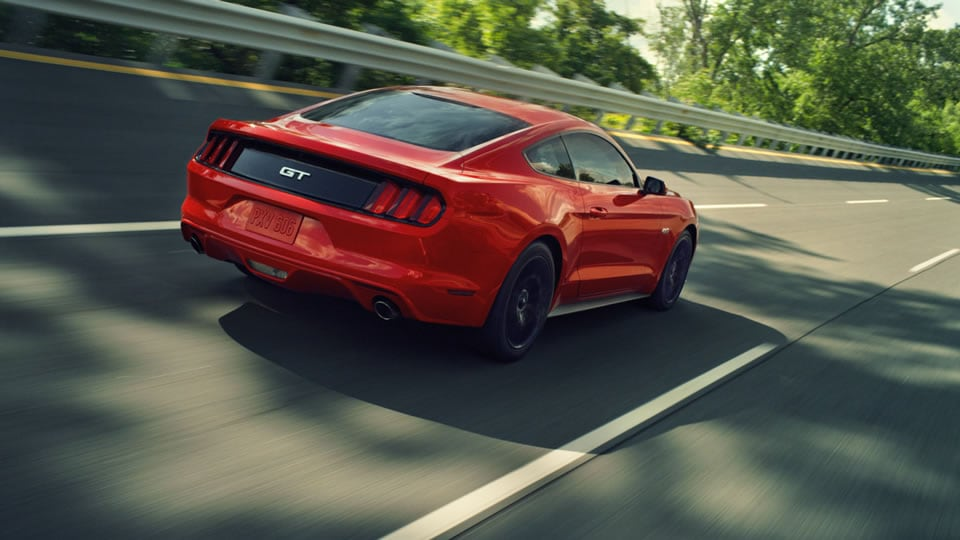 2016 Ford Mustang Red